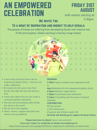 An Empowered Celebration for Kerala Floods ‐ Community Switch